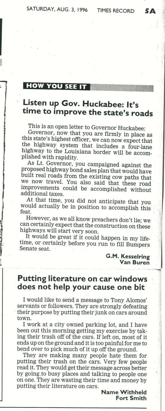 Tony Alamo News » 2007 » February