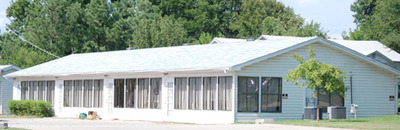Muldrow Police Chief Tony Lewis said property located at 303 E. Shawntell Smith Blvd. in Muldrow is owned by the Tony Alamo Ministries. Lewis said the property appears vacant. Courtney Coble • TIMES